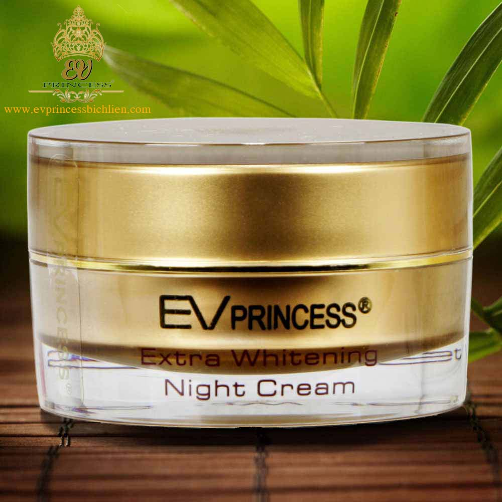 EV Princess extra whitening night cream