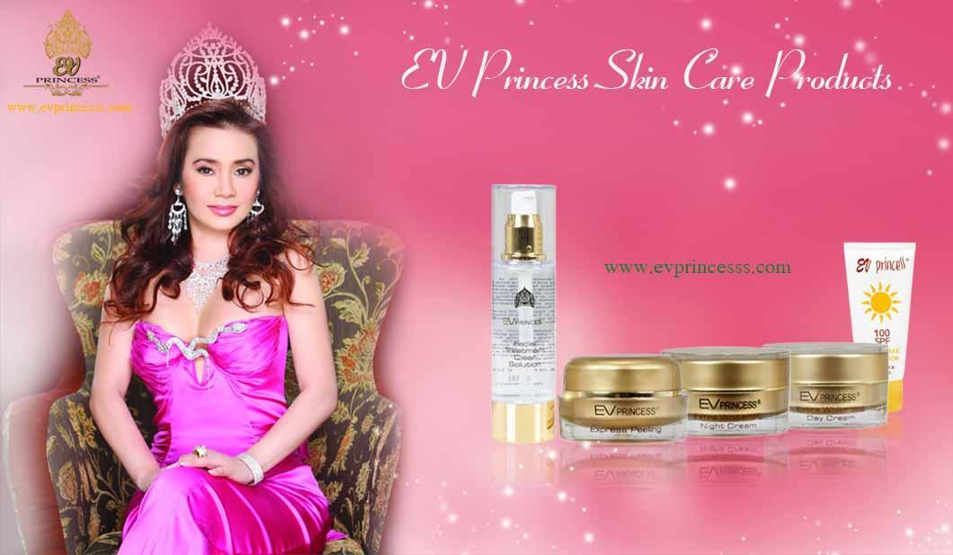 ev princess skin care products